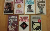 Agatha Christie Mystery Book List 11 Desktop Background