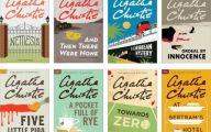 Agatha Christie Mystery Book List 17 High Resolution Wallpaper