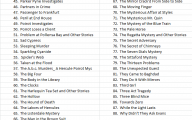 Agatha Christie Mystery Book List 25 Background