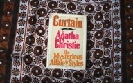 Agatha Christie Mystery Book List 8 Background Wallpaper