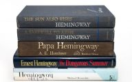 Book By Ernest Hemingway 1 Hd Wallpaper