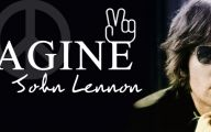 John Lennon Imagine 24 Wide Wallpaper