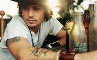 Johnny Depp 11 Background Wallpaper