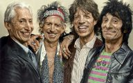 The Rolling Stones 36 Wide Wallpaper