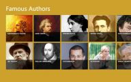 Famous Writers 14 Widescreen Wallpaper