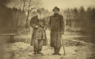 Leo Tolstoy Books 19 Background