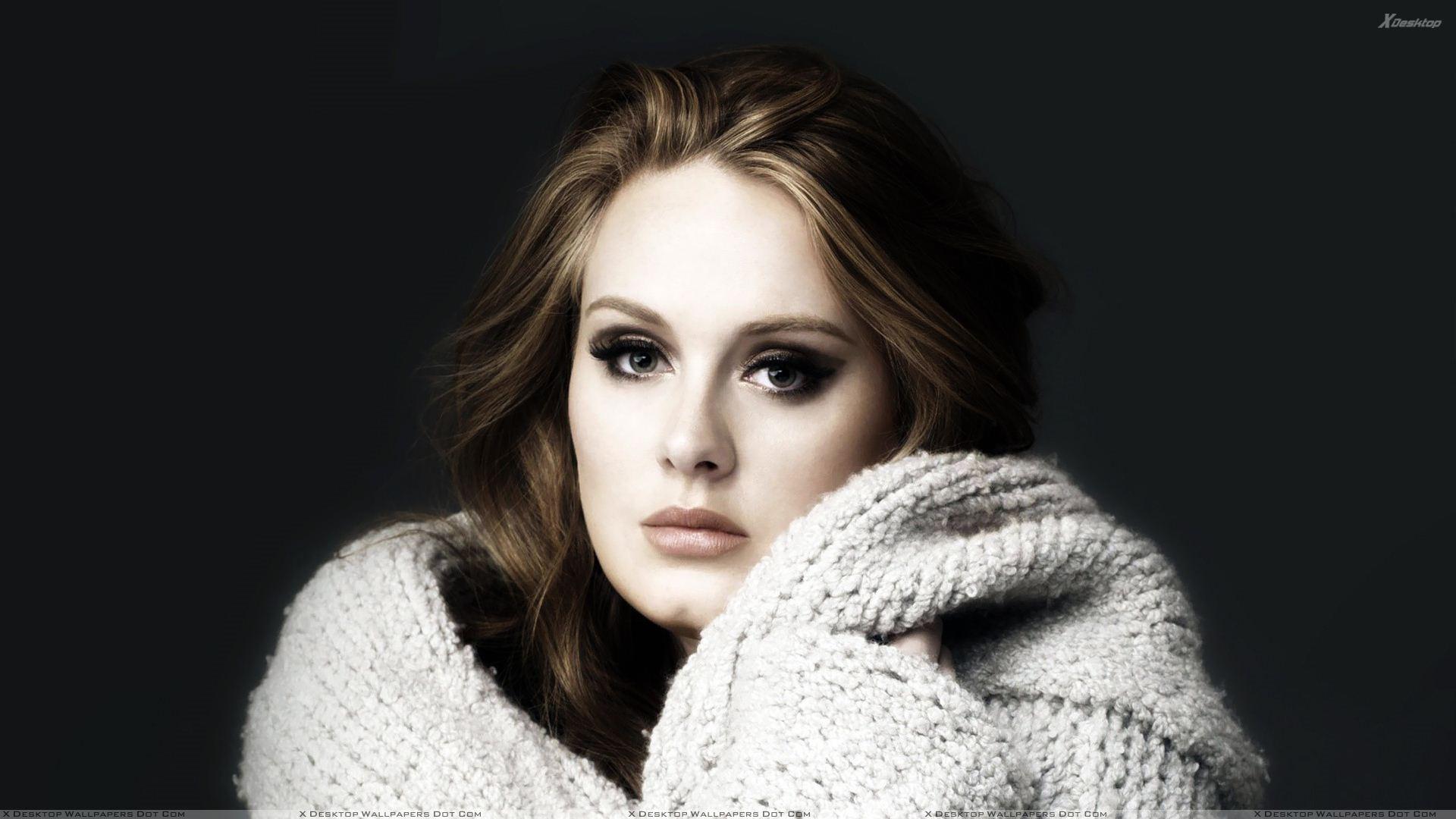 Adele 3 Wide Wallpaper