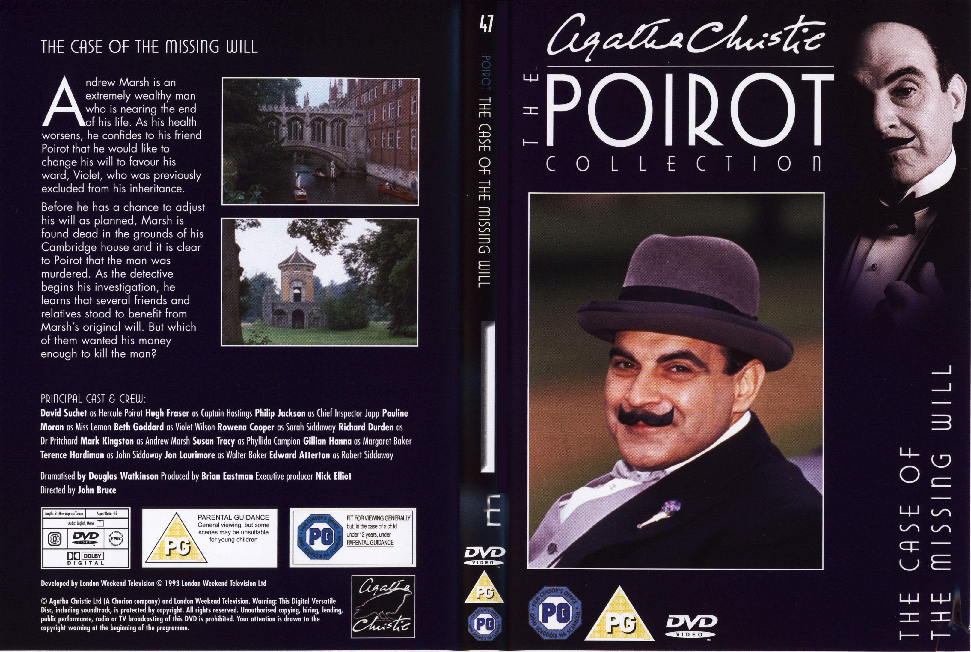 a comparison of agatha christies poirot and a cornish mystery Watch the video «agatha christie's poirot s02e04 the cornish mystery» uploaded by agatha christie's poirot on dailymotion.
