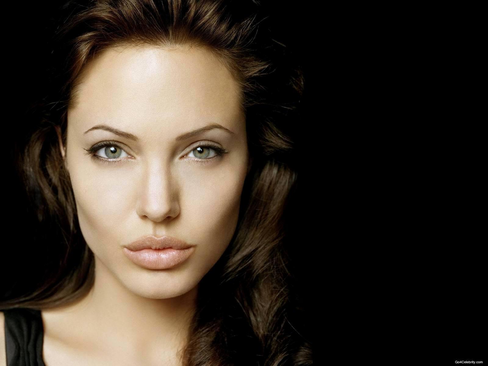 Angelina Jolie 14 Widescreen Wallpaper