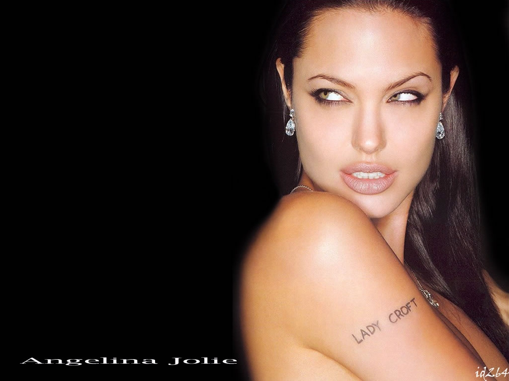 Angelina Jolie 4 High Resolution Wallpaper