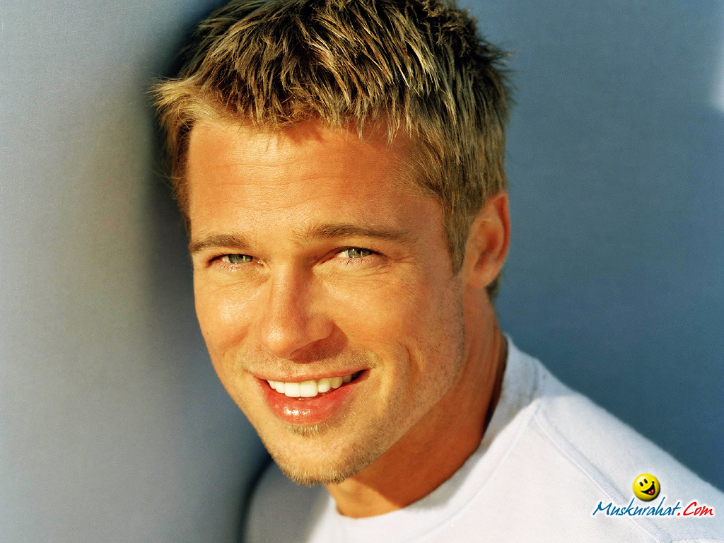 Brad Pitt 16 Widescreen Wallpaper
