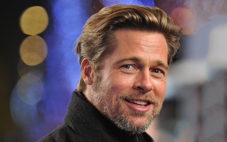 Brad Pitt 29 Background Wallpaper