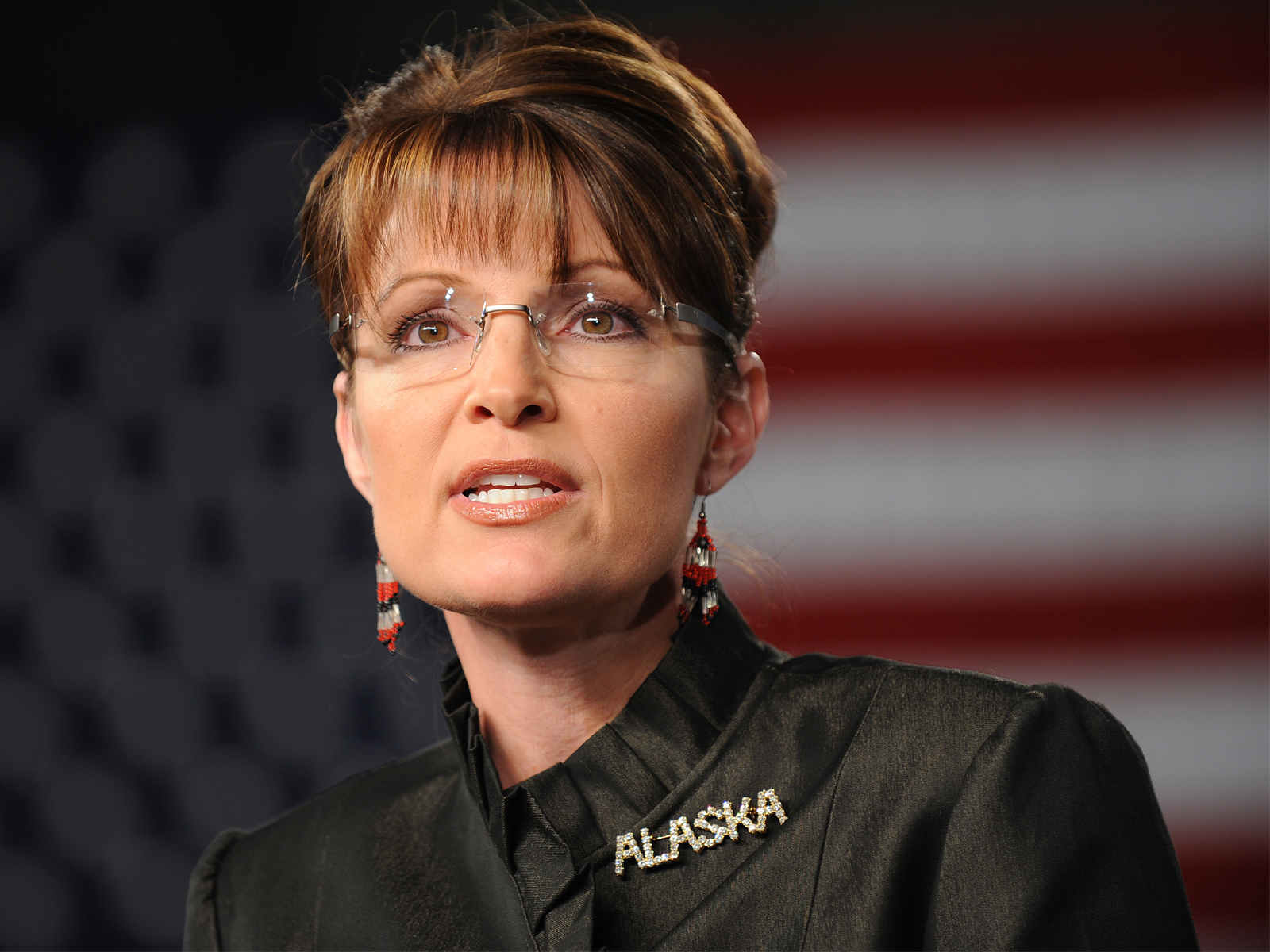 Governor Sarah Palin 25 Wide Wallpaper