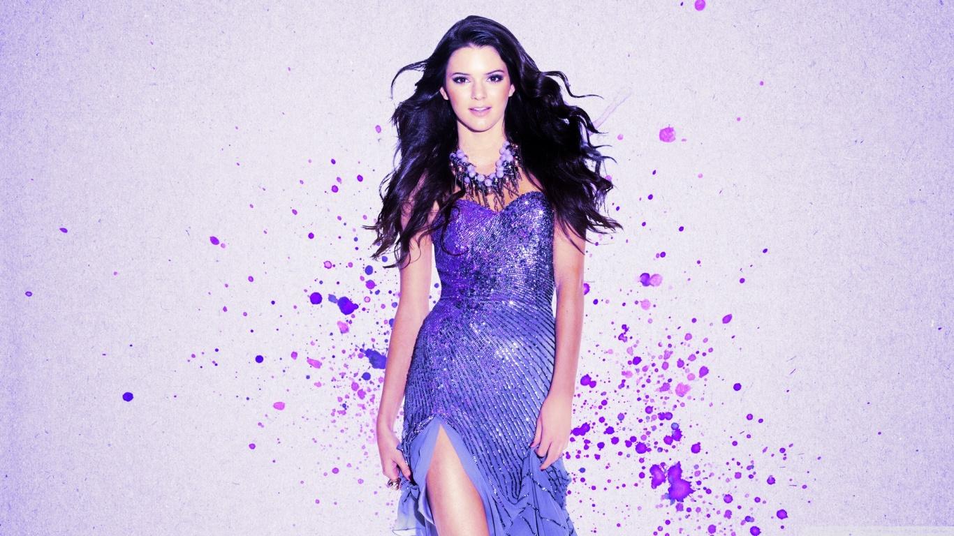 Kendall Jenner 2 Desktop Background