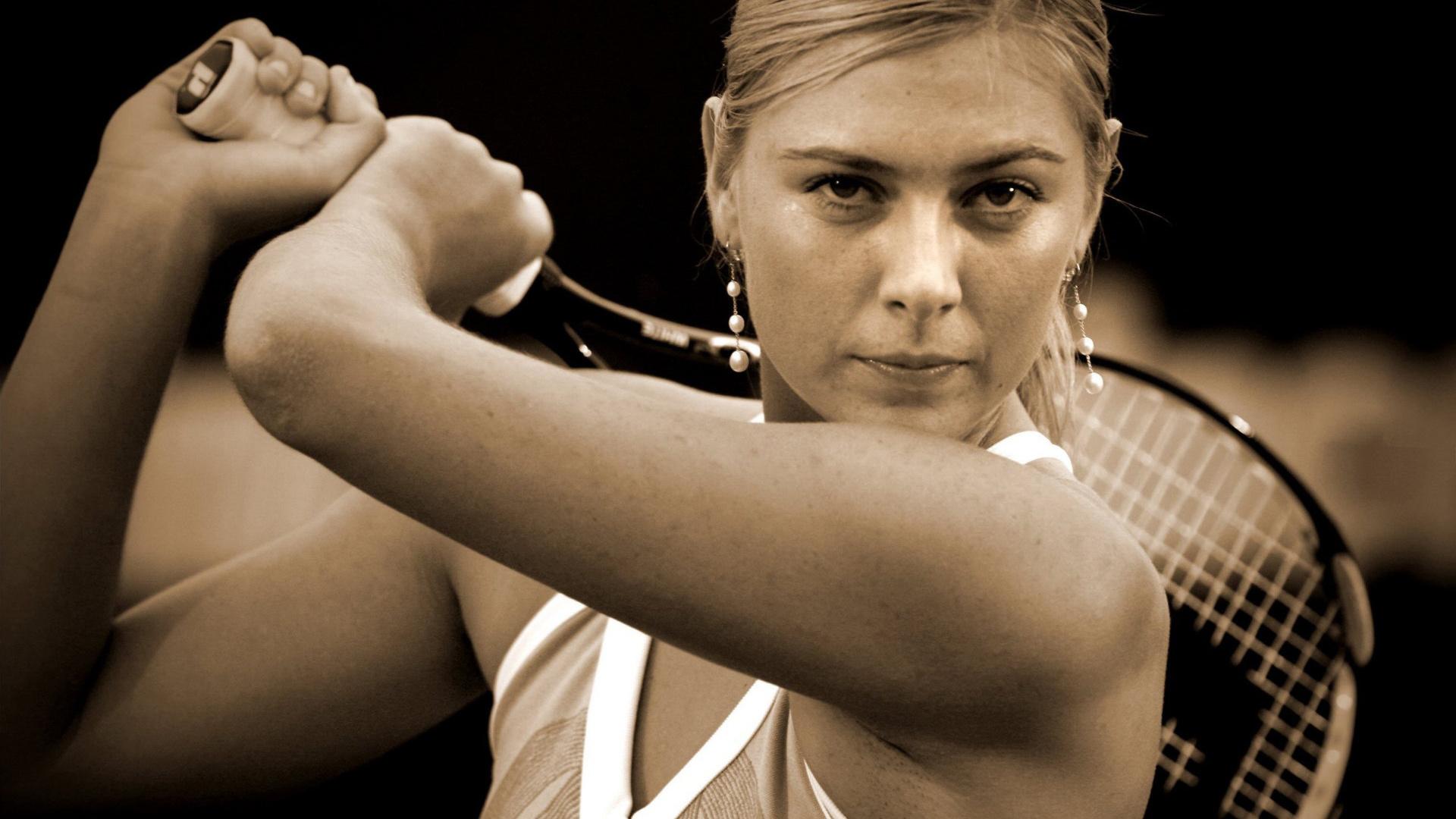 Maria Sharapova 19 Widescreen Wallpaper