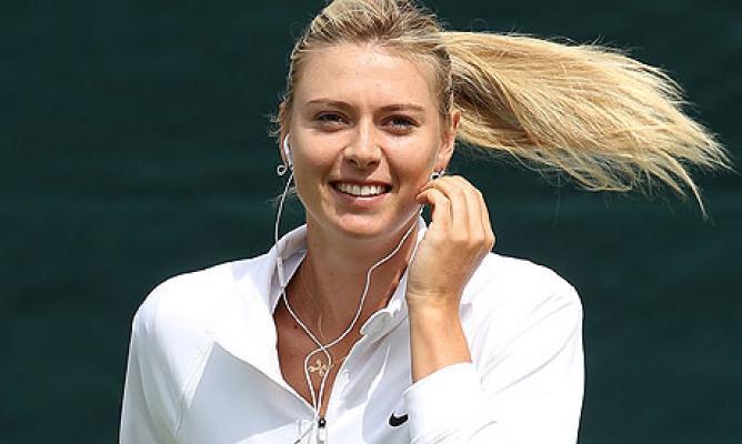Maria Sharapova 33 Free Wallpaper