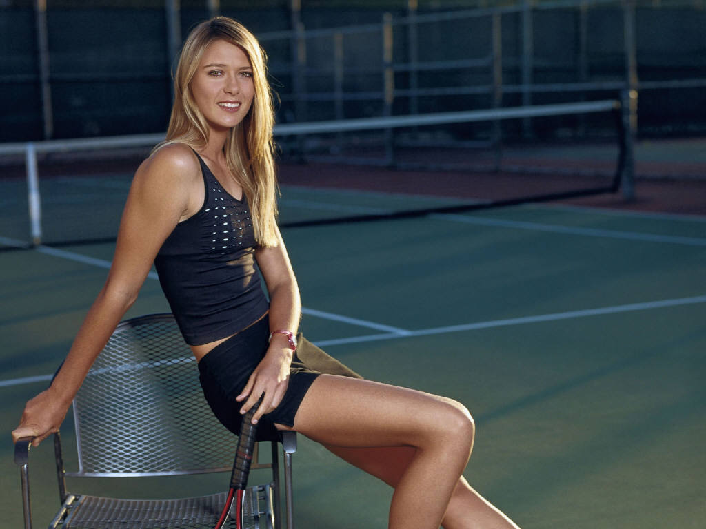 Maria Sharapova 38 Widescreen Wallpaper