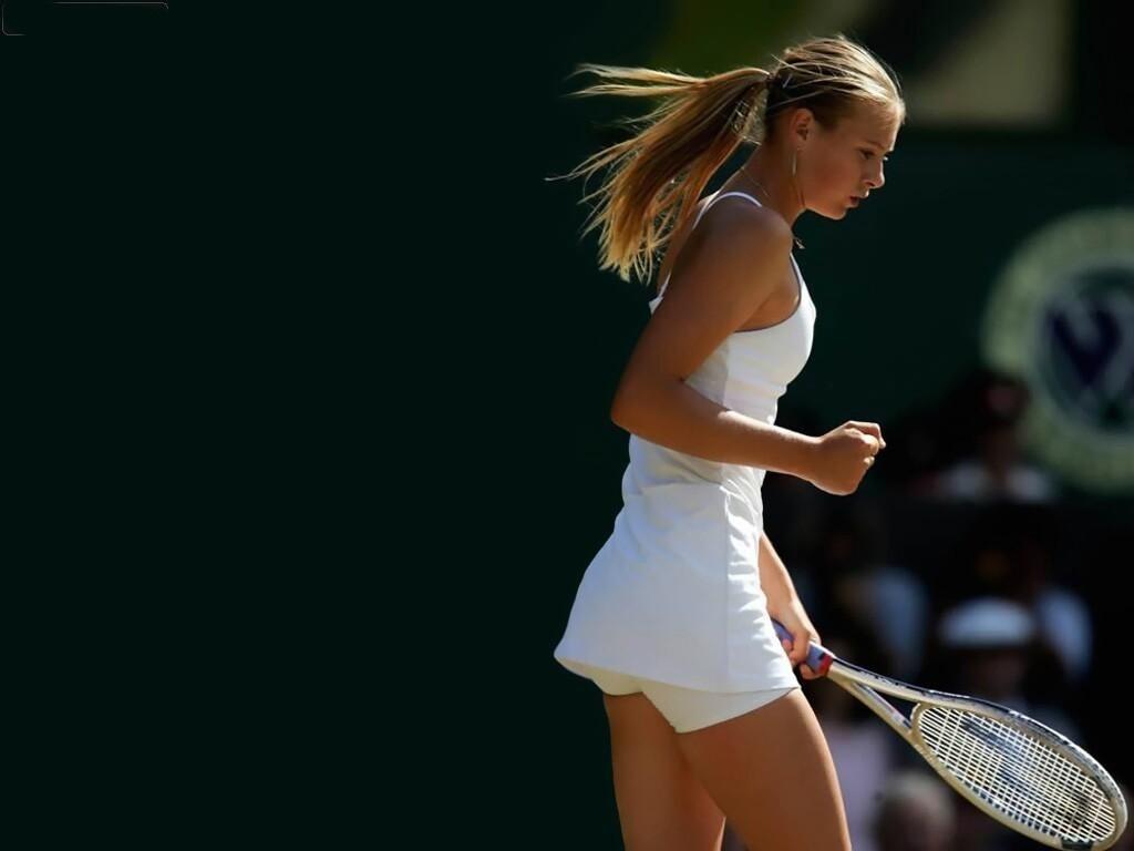 Maria Sharapova 40 Widescreen Wallpaper