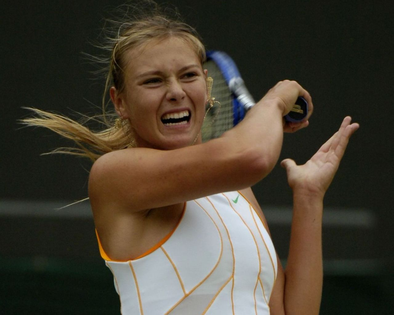 Maria Sharapova 6 Free Wallpaper