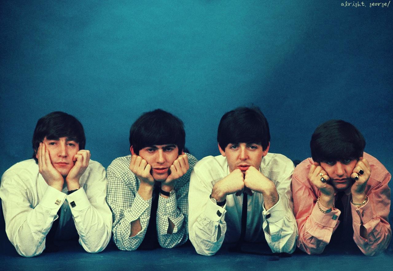 The Beatles 14 Wide Wallpaper