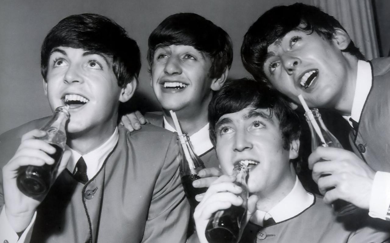 The Beatles 40 Desktop Background