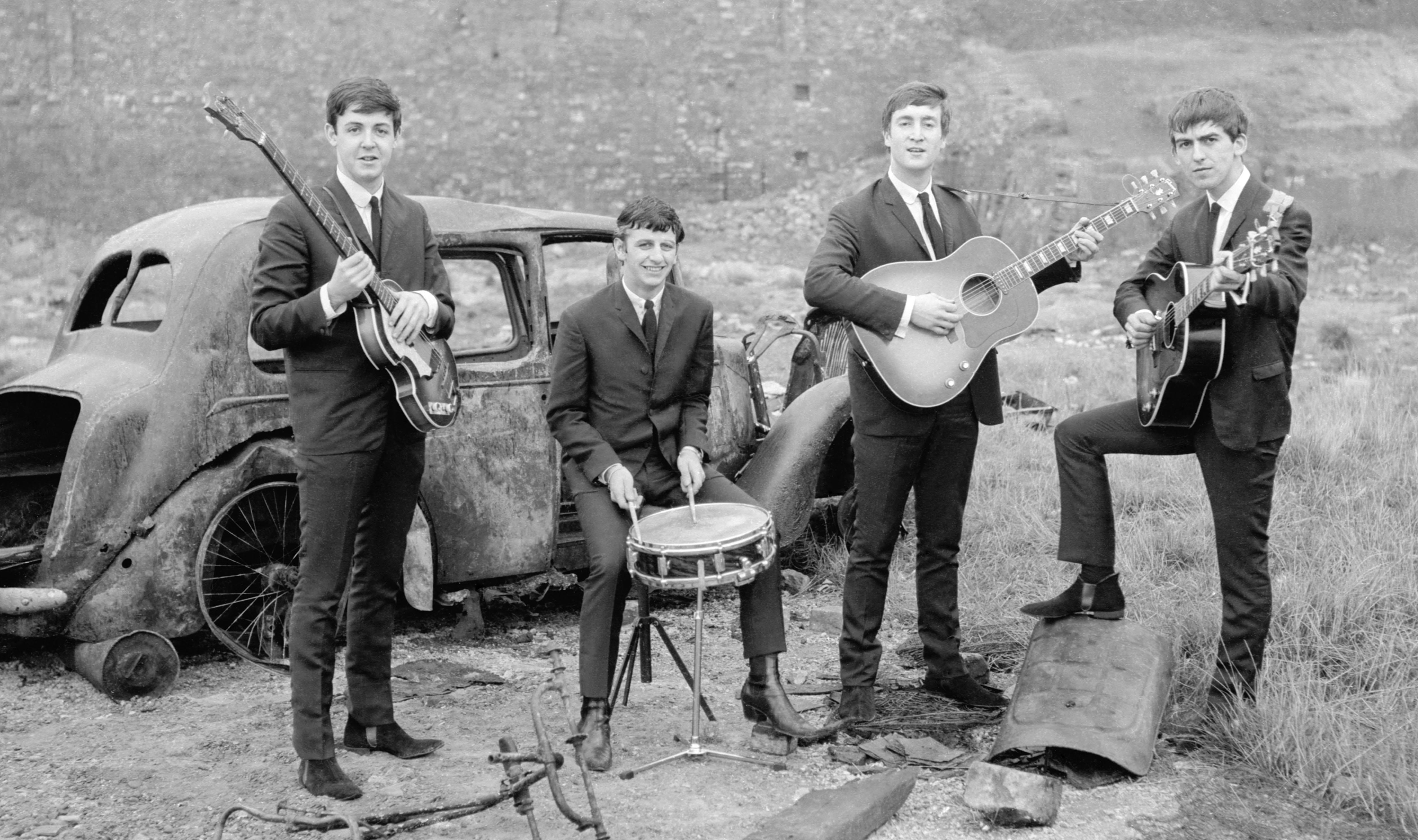 The Beatles 6 Desktop Wallpaper