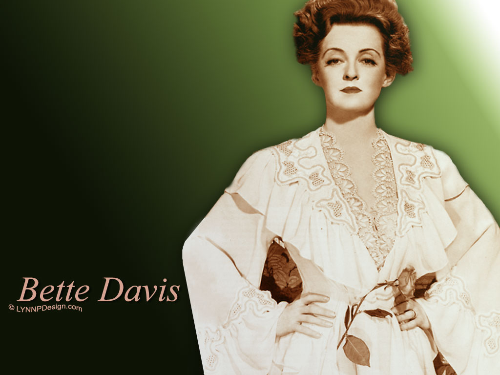 Bette Davis 20 Wide Wallpaper