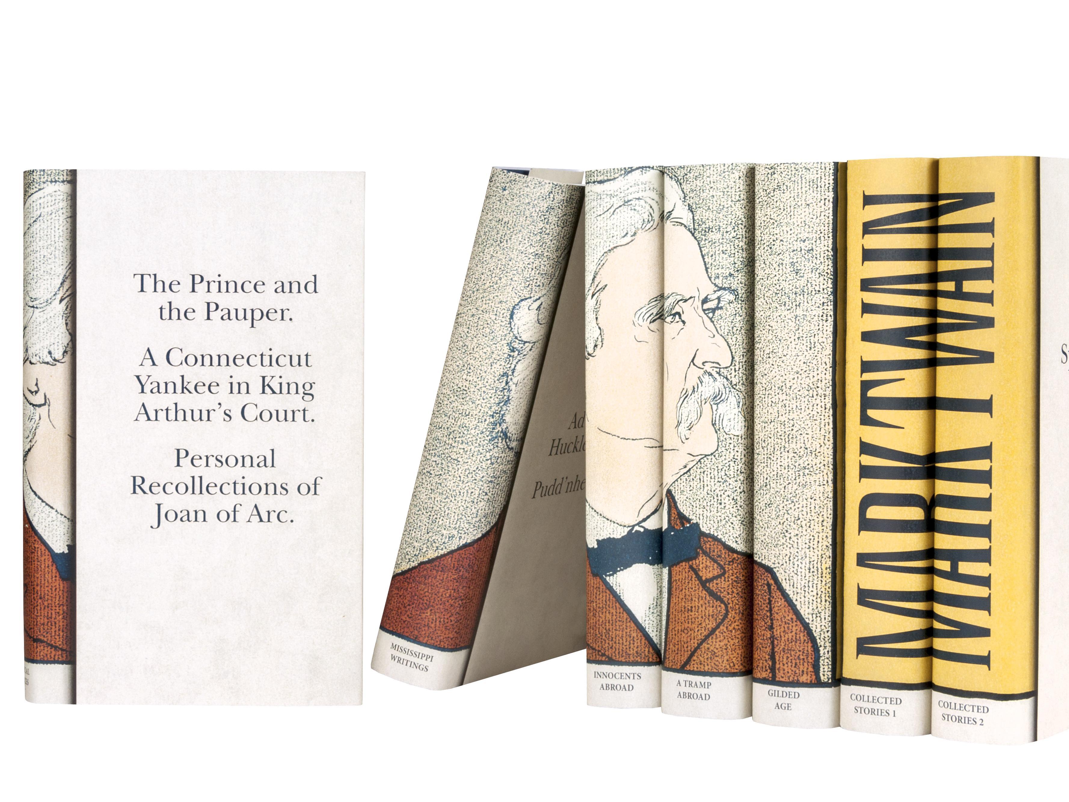 Books By Mark Twain 18 Wide Wallpaper