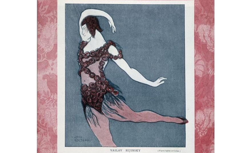 Dancer Vaslav Nijinsky 12 Widescreen Wallpaper