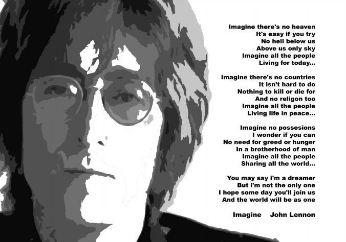 John Lennon Imagine 14 Background