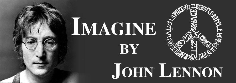 John Lennon Imagine 5 Background Wallpaper