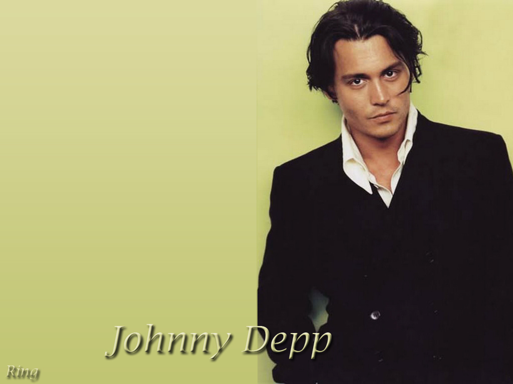 Johnny Depp 14 Background Wallpaper