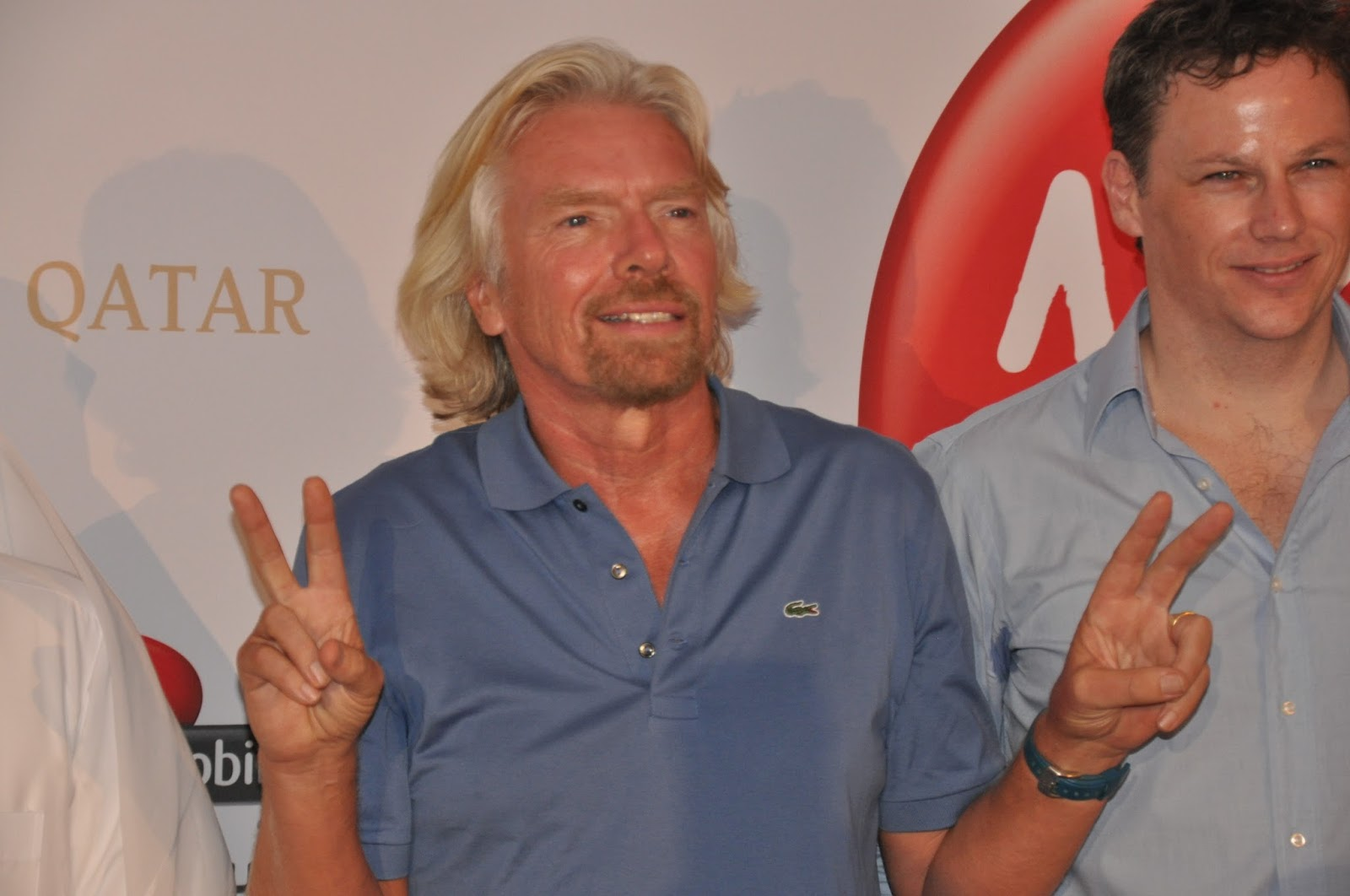 Richard Branson Successful Businessman 1 Widescreen Wallpaper