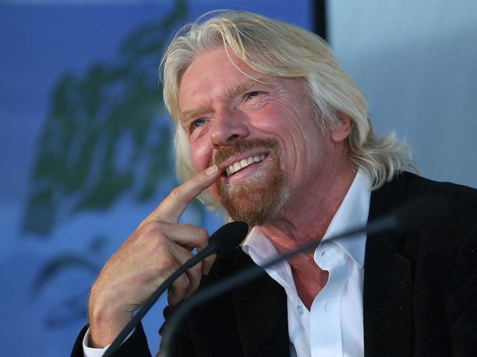Richard Branson Successful Businessman 17 Cool Wallpaper