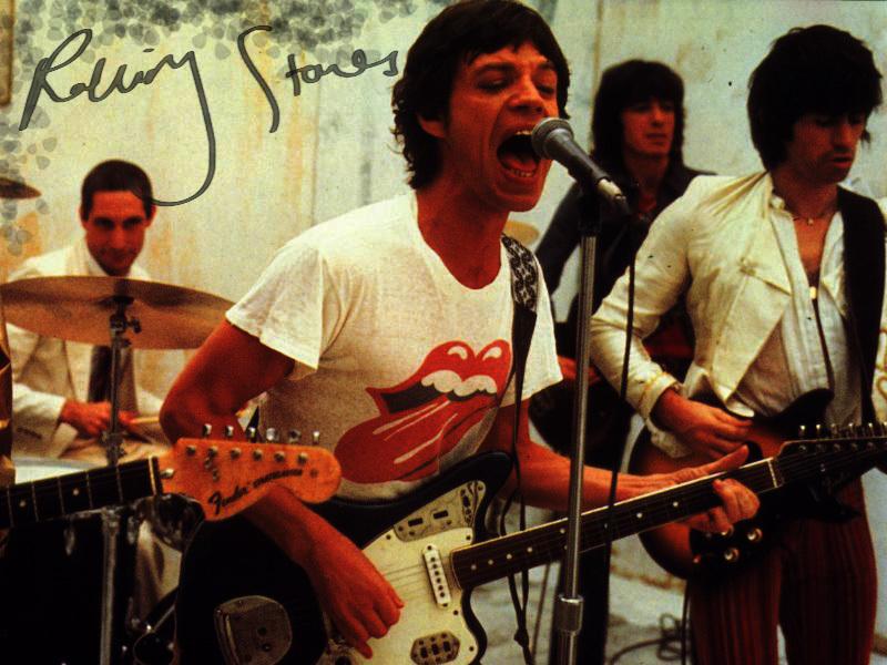 The Rolling Stones 42 Desktop Wallpaper
