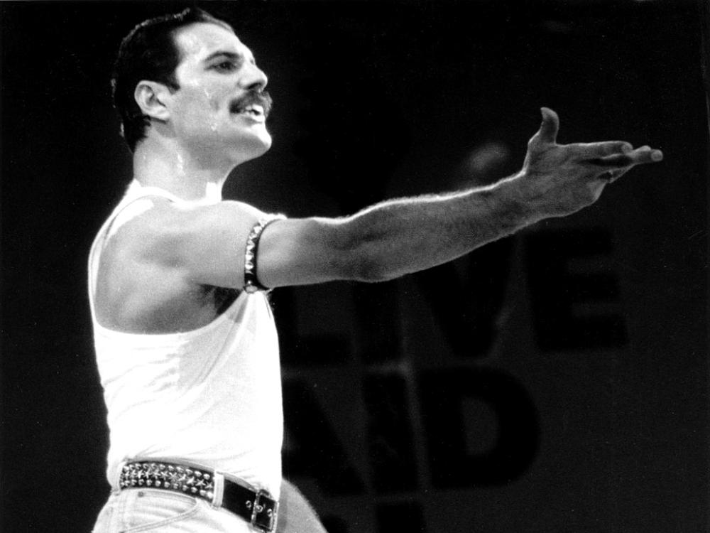 Freddie Mercury 10 Wide Wallpaper