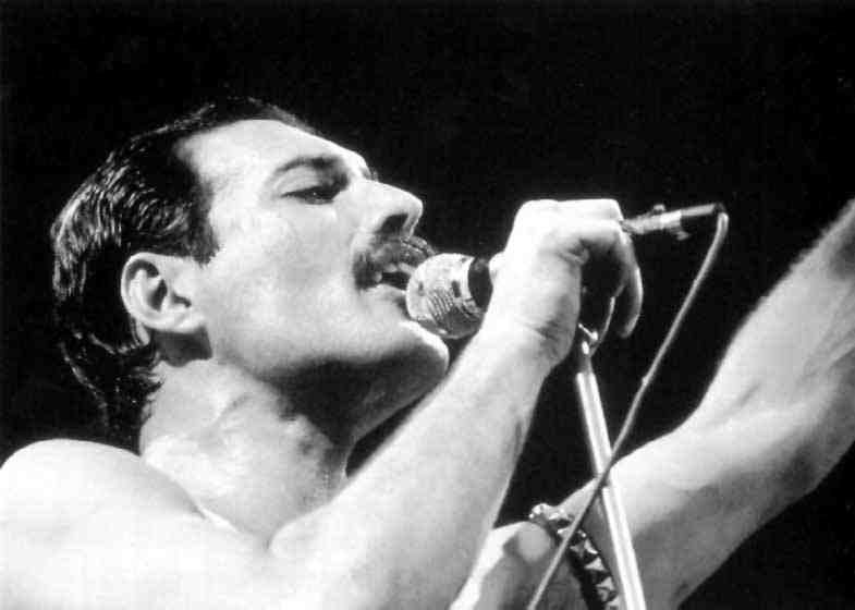 Freddie Mercury 38 Free Wallpaper