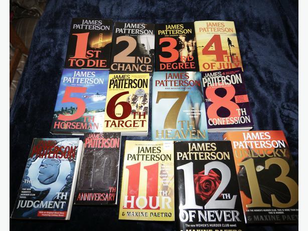 James Patterson Book List 18 Background Wallpaper