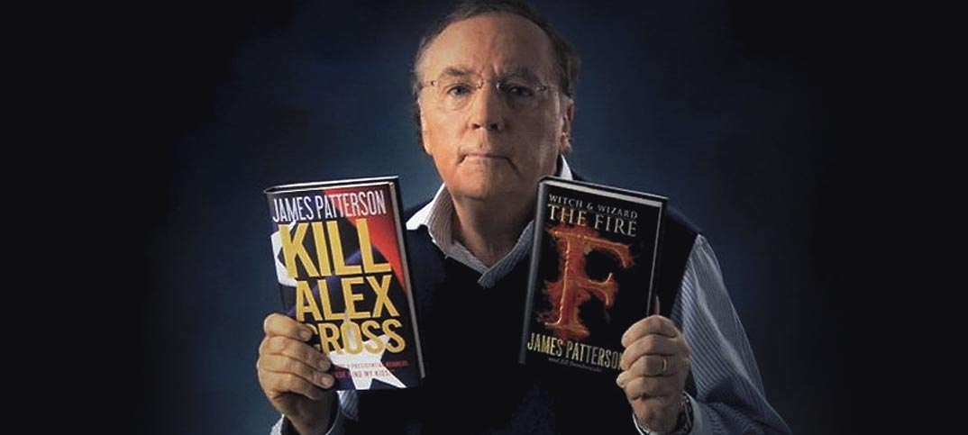does james patterson use ghostwriters James brendan patterson (born march 22, 1947) is an american author and philanthropist among his works are the alex cross, michael bennett, women's murder club, maximum ride, daniel x, nypd red, witch and wizard, and private series, as well as many stand-alone thrillers, non-fiction and romance novels.