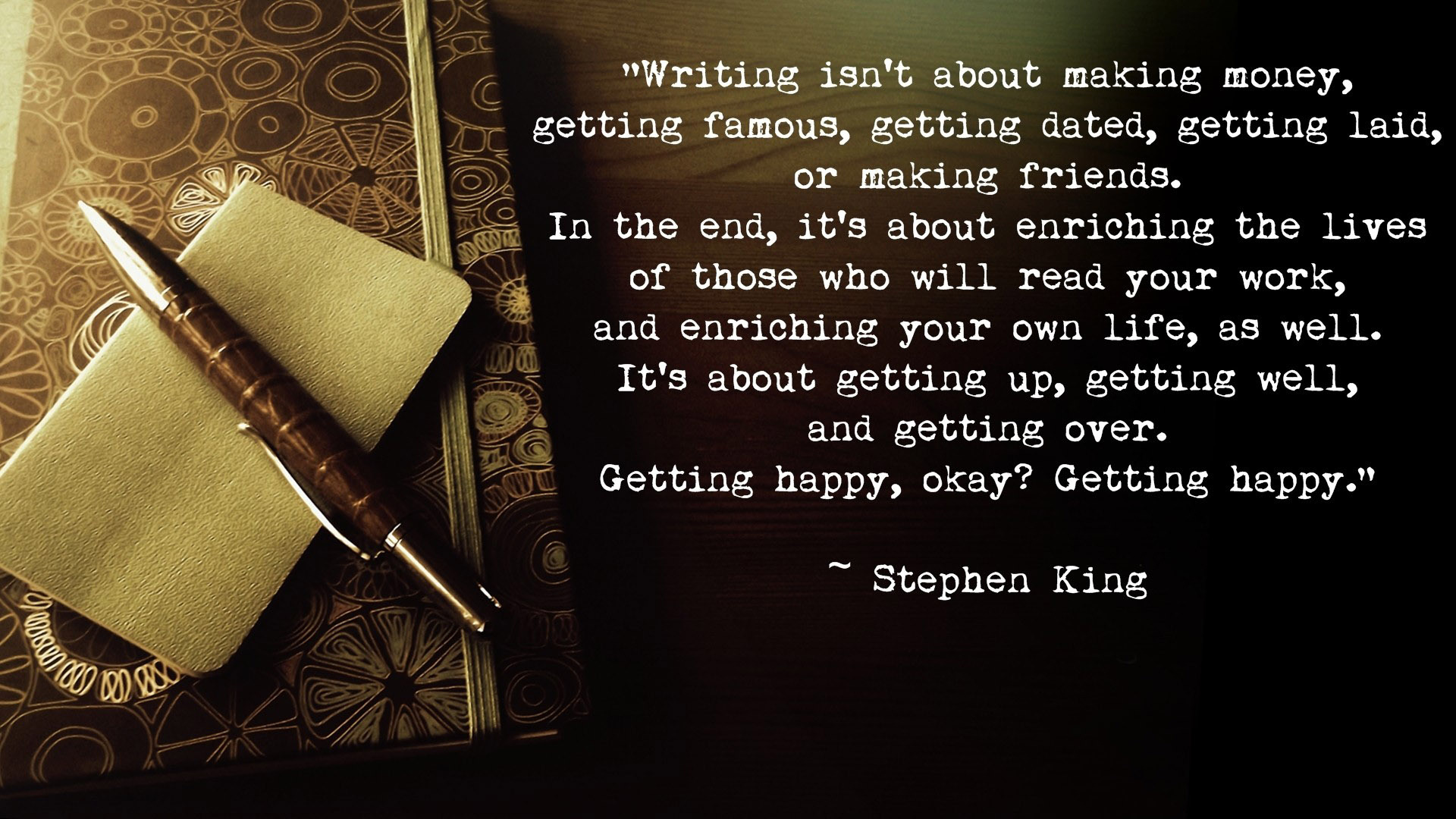 Stephen King Quotes 31 Widescreen Wallpaper