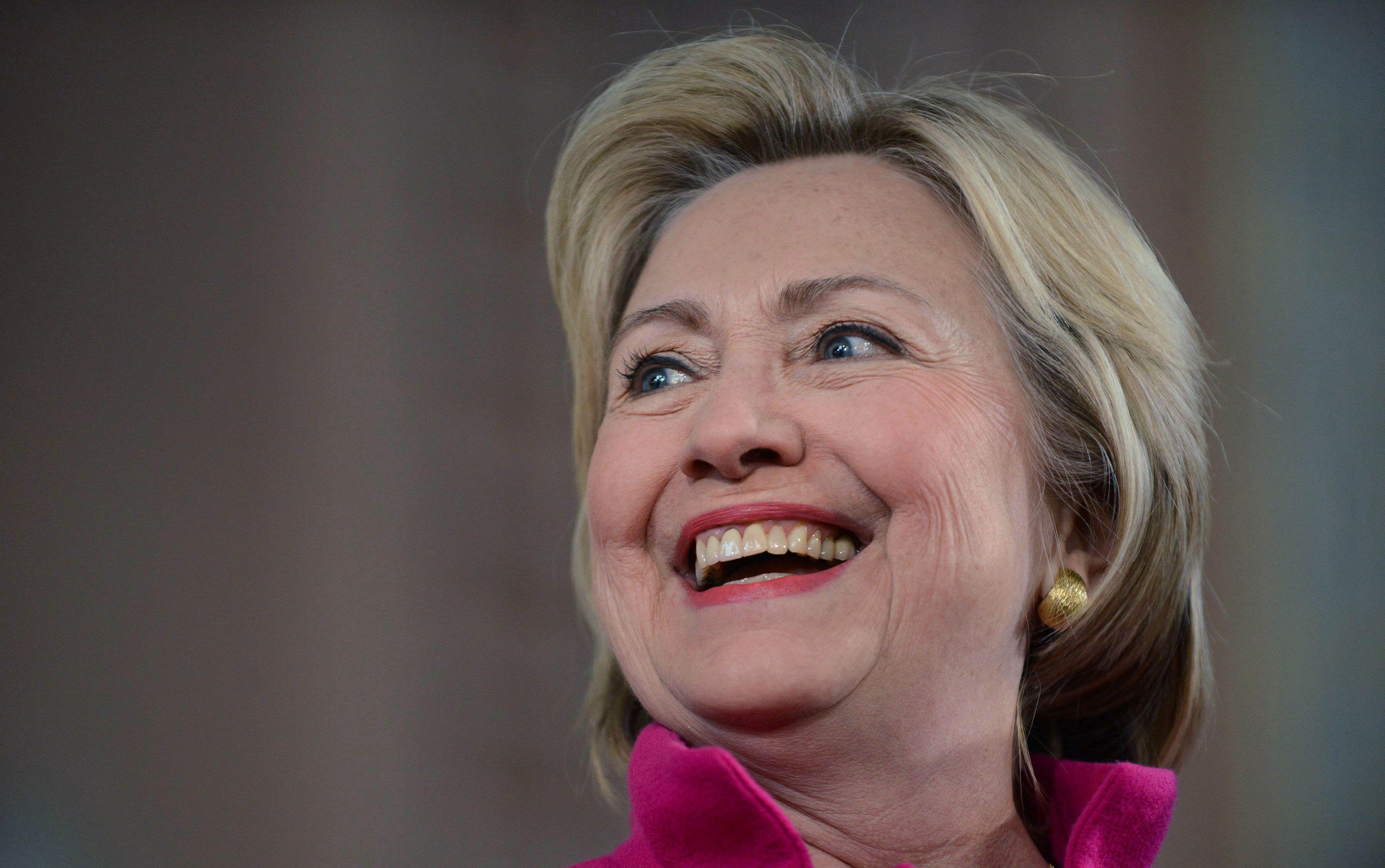 Hillary Clinton 21 Background Wallpaper